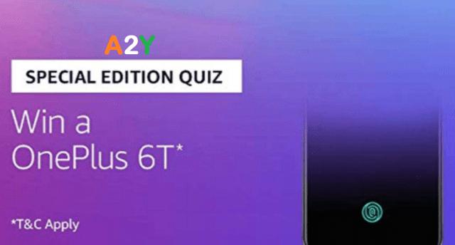Amazon OnePlus 6T Quiz Answers