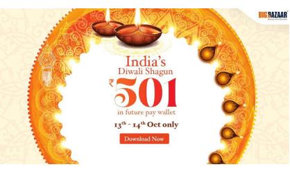 Free Rs 501 FuturePay Cash
