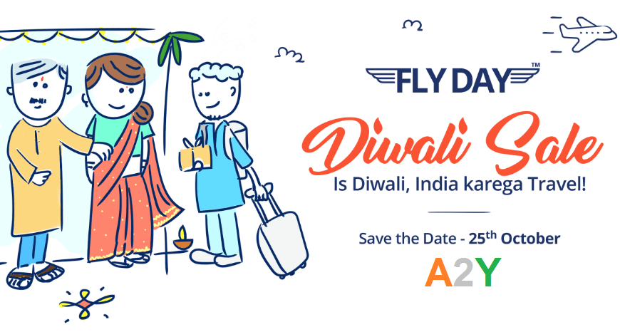 Paytm Fly Day Diwali Sale- FLYDAYVIP Coupon for Registered Users