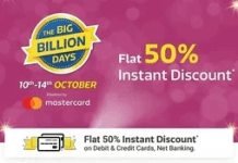 Flipkart 50% Off Hotels