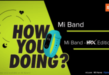 Mi Band HRX Edition at Rs 809