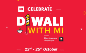 Mi Diwali Flash Sale