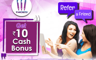 11wickets Refer & Earn