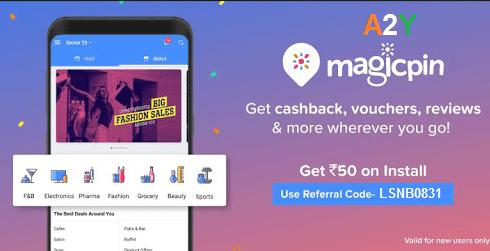 MagicPin App Refer Code