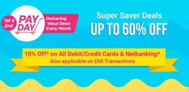 Flipkart PayDay Superb Deals