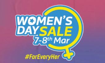 Flipkart Women's Day Sale