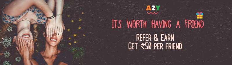 Refer & Earn ₹50