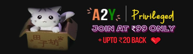 Join A2Y Privileged @ ₹99