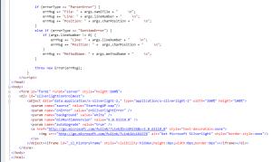 Silverlight App TestPage