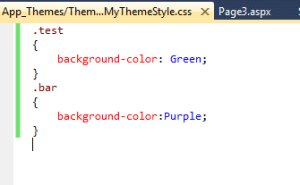 Themes in ASP.NET