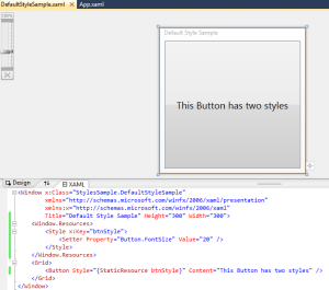 WPF Styles, Templates and Controls