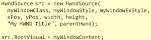 WPF in Win32
