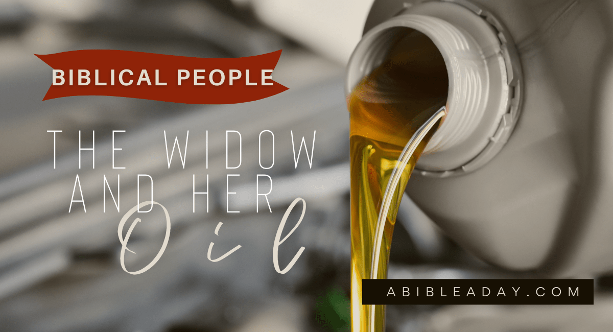 The Widow and Her Oil