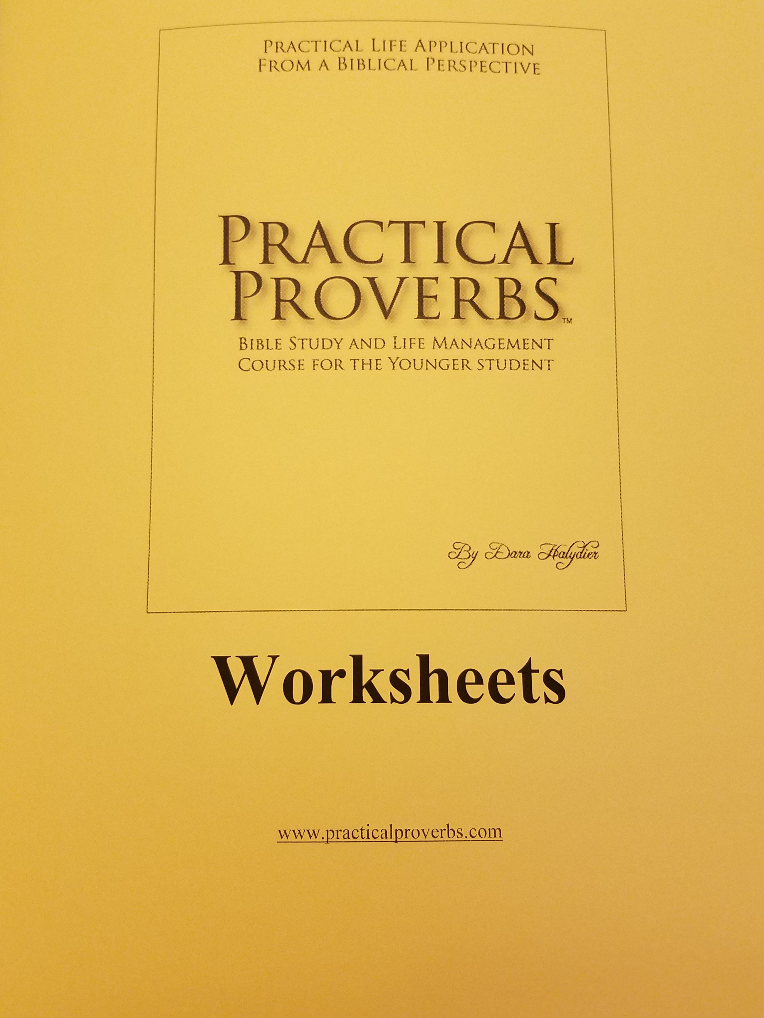 Abiding Truth Ministry Practical Proverbs For Younger Students Nas