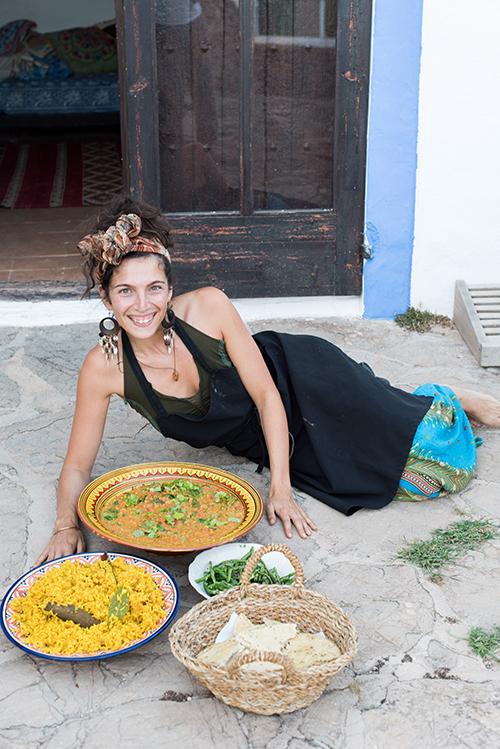 Abi FOx, food alchemist ibiza, plant powered chef,