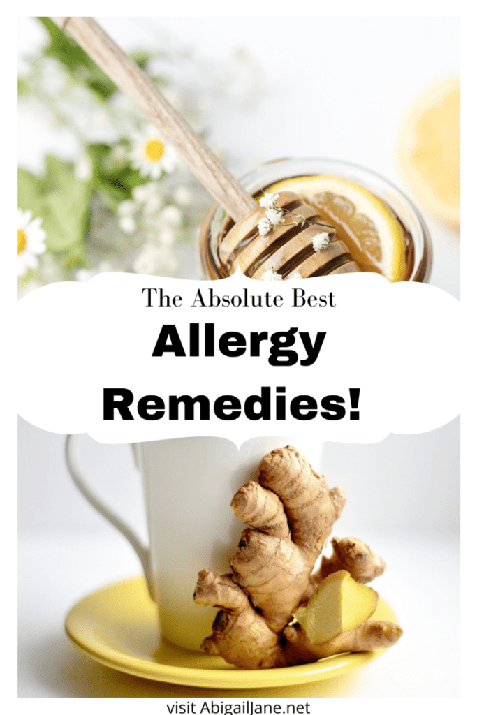natural allergy relief remedies