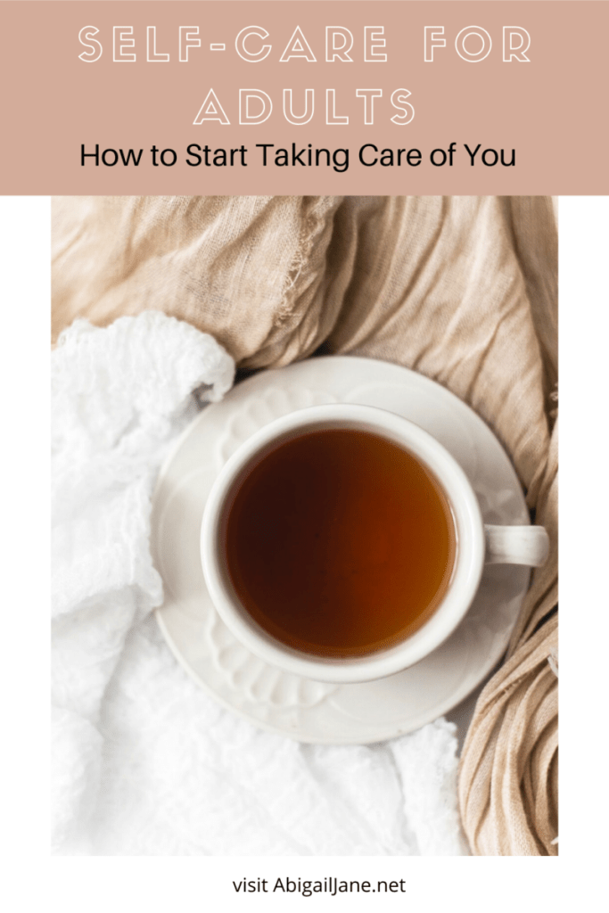 self-care for adults