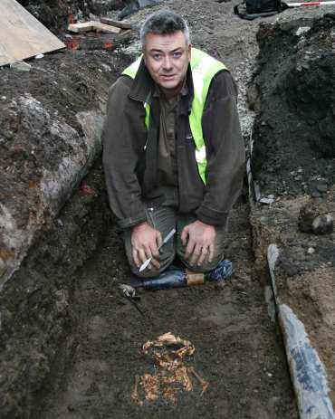 Franc Myles archeologist