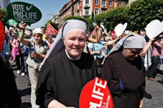 Pro Life marchers