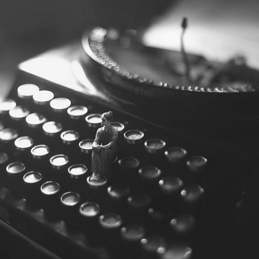 Typewriter image by fiddleoak on Flickr. Some rights reserved.