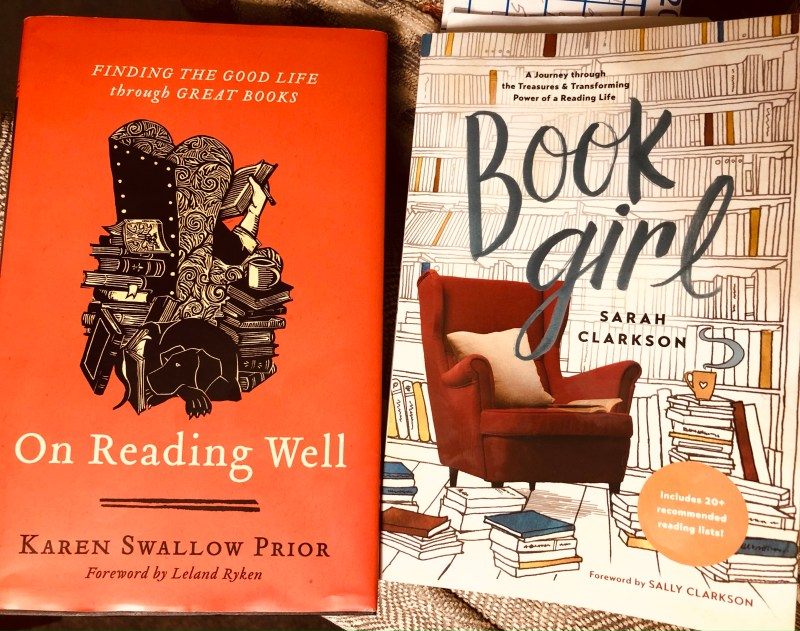 Book Girl and On Reading Well books