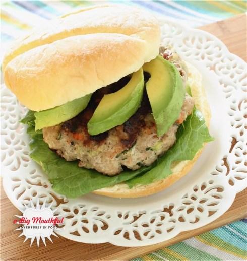 Healthy Turkey Vegetable Burgers