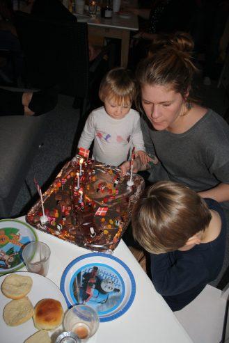 Ottos 3 års fødselsdag