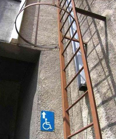Bildergebnis für accessibility fail