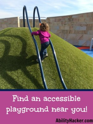 Find Accessible Playgrounds near you for disabled kids