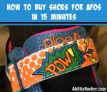How to buy shoes for AFOs in 15 minutes