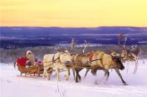 vacances de fin d'année : noel en finlande