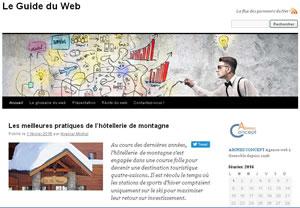 Blog outil de promotion et d'information