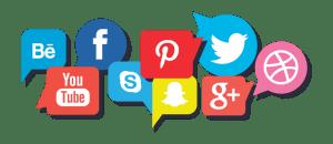 Votre présence sur tous les réseaux sociaux