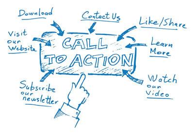 expérience utilisateur : appel à l'action