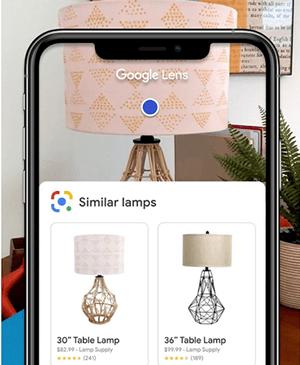 marketing digital 2020 : recherche visuel google