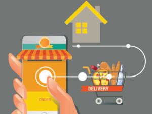 la vente de produits biologiques en ligne - le service à domicile