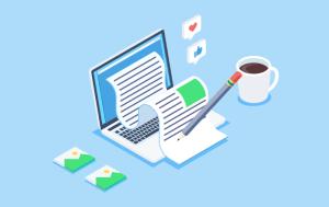 création d'un blog d'informations - stratégie marketing digital