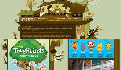 Web design fun