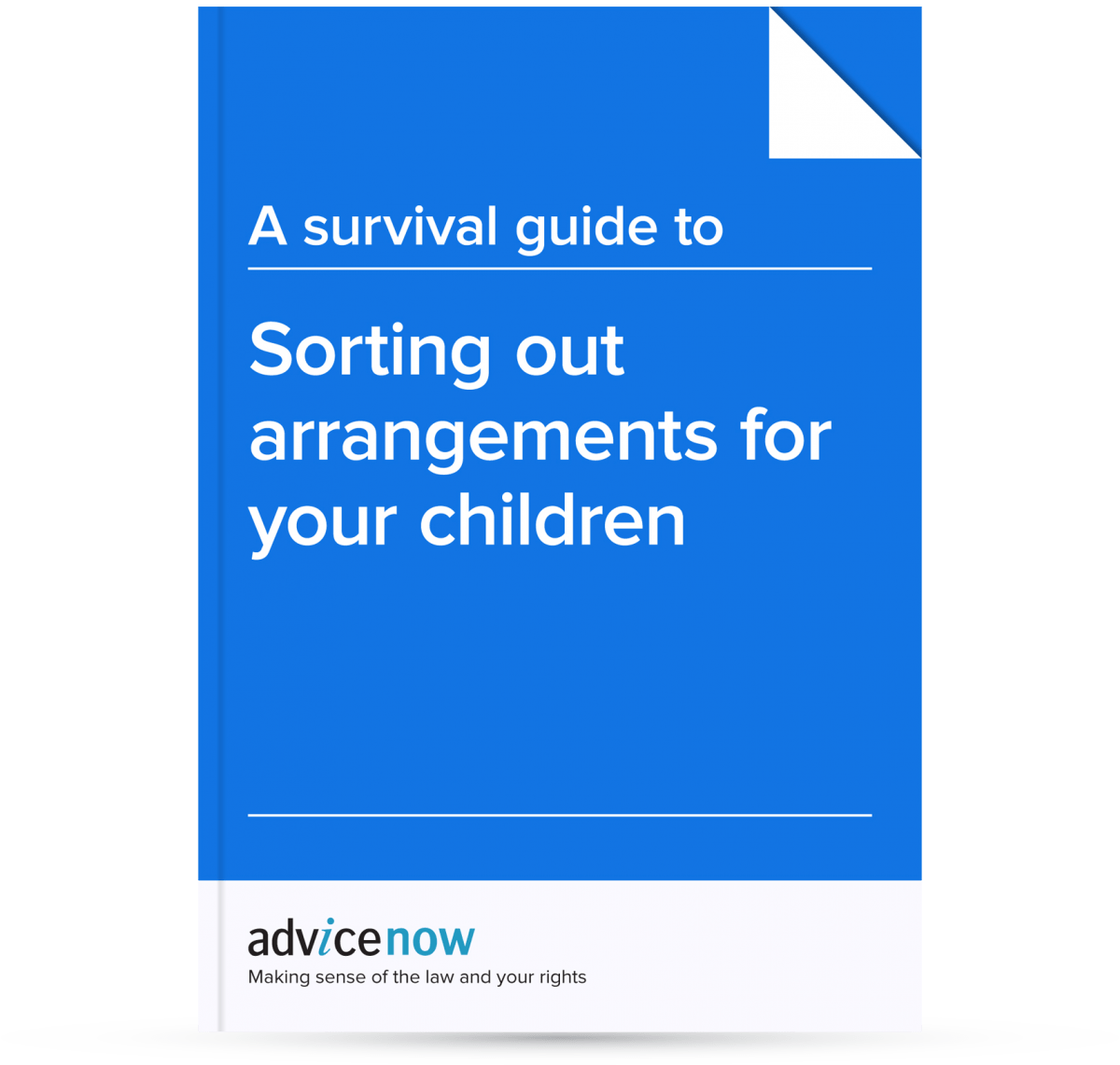 guide to sorting out arrangements for your children