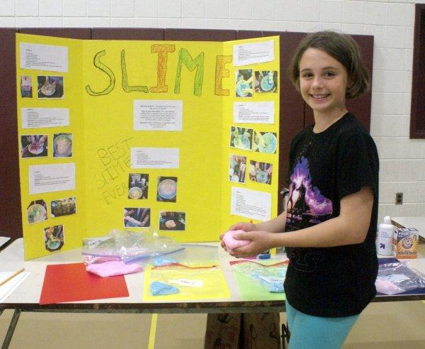 Overlook Elementary School Science Fair Features Junior