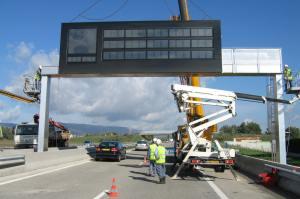 Transport PMV sur Escota