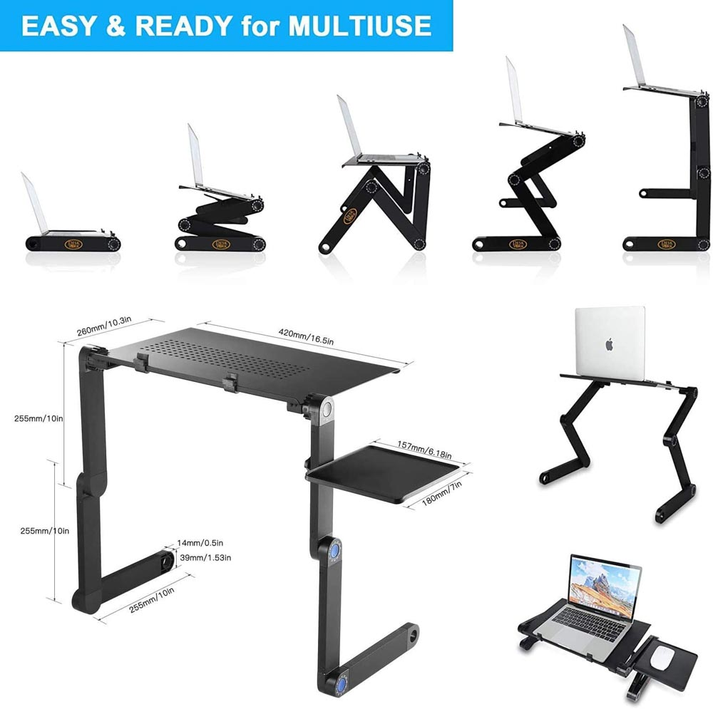 York foldable laptop desk