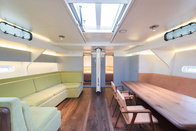 Chipperfield designs the interior of a new boat   Abitare Chipperfield designs the interior of a new boat