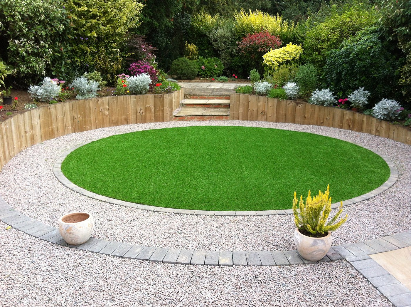 Artificial Grass Projects | Gardens | A Bit of Green on Patio And Grass Garden Ideas id=68252