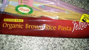 pic of brown rice pasta
