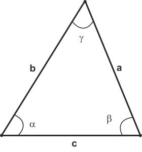 Треугольник. Теорема косинусов. Теорема синусов