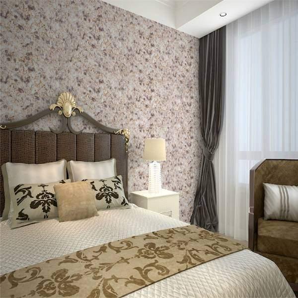 Примеры обоев для спальни, их разновидности