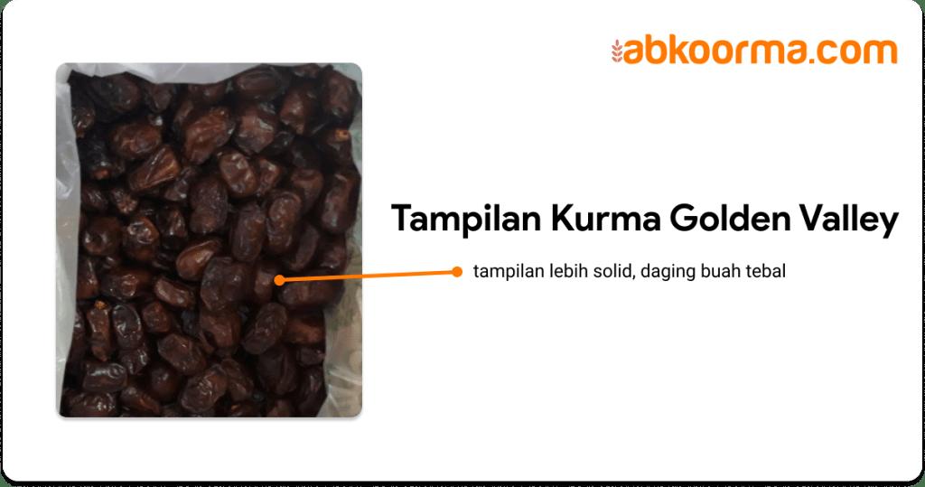 Tampilan kurma golden valley - 5 perbedaan kurma khalas dan golden valley