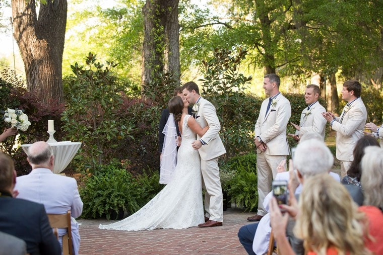 Classic Southern Wedding at a Historic SC Grits Mill
