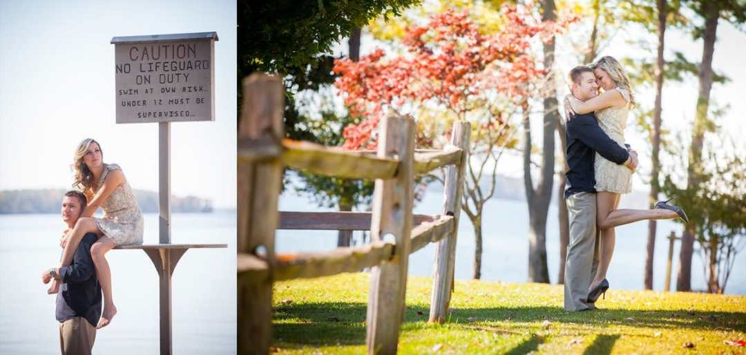 Pine Island Engagement Session at Lake Murray